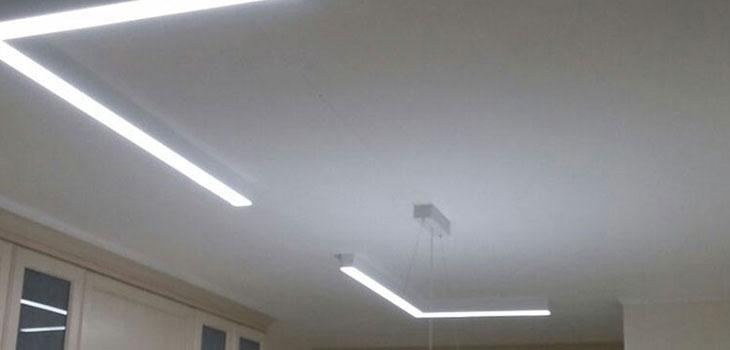 מפוארת תאורה לסלון צמוד תקרה SJ-28