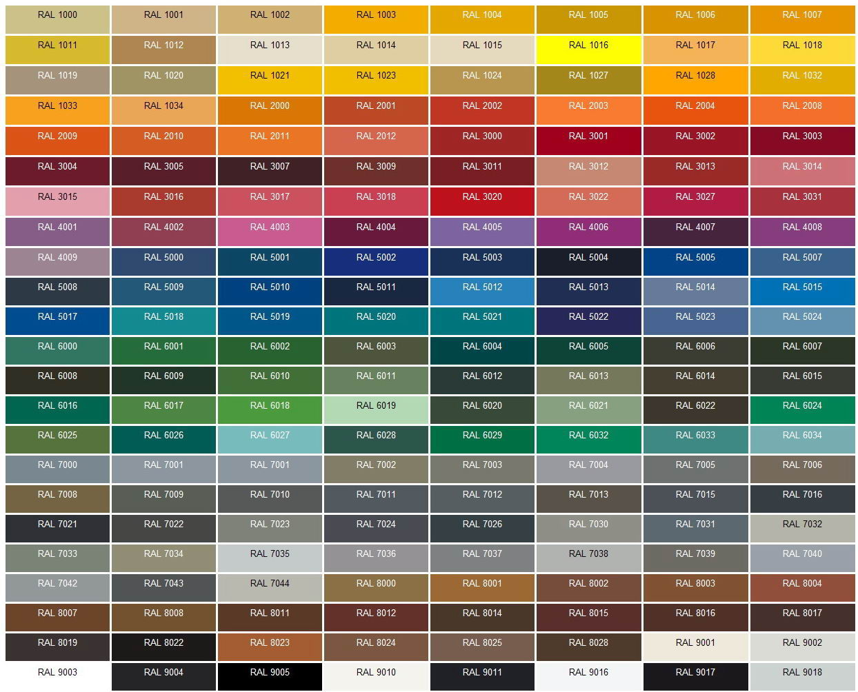 What Colors Are Fixtures Available In